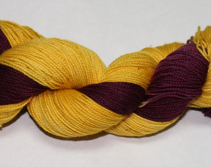 Gryffindor Hand Dyed Sock Yarn