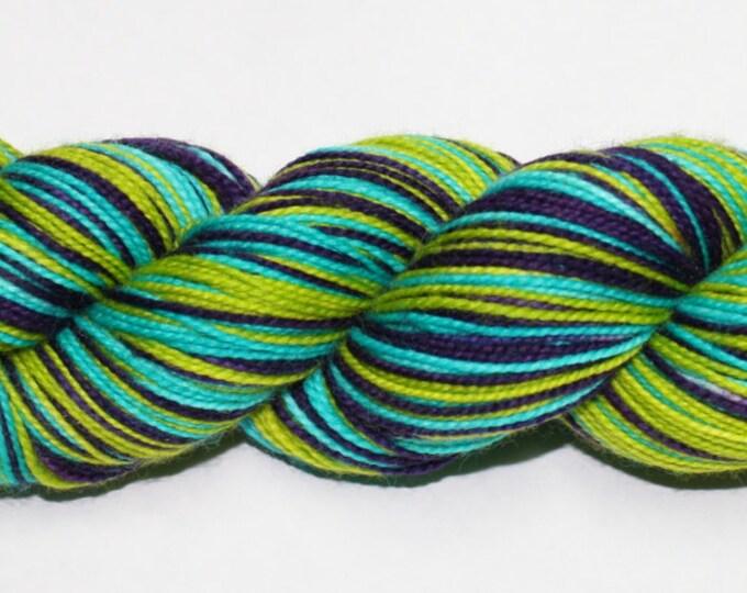 Ocean Depths Self-Striping Hand Dyed Sock Yarn
