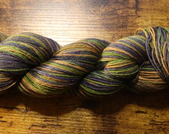 Ready to Ship - Wayward Sons Self Striping Hand Dyed Sock Yarn
