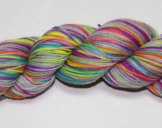 Make Me Smile Self Striping Hand Dyed Sock Yarn