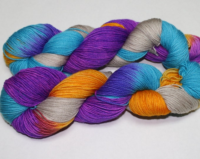 Wanderer Hand Dyed Sock Yarn