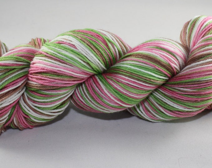 Meadow Self Striping Hand Dyed Sock Yarn
