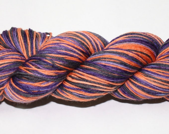 Hocus Pocus Self-Striping Hand Dyed Sock Yarn