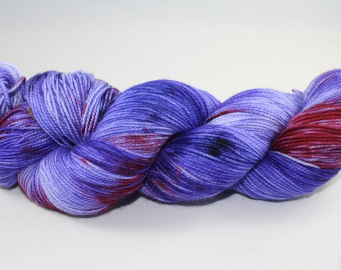 Violets Hand Dyed Sock Yarn