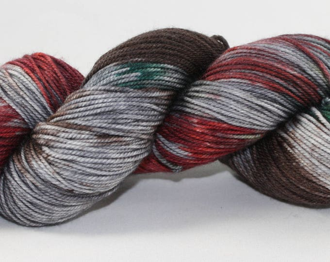 Krampus Hand Dyed Sock Yarn