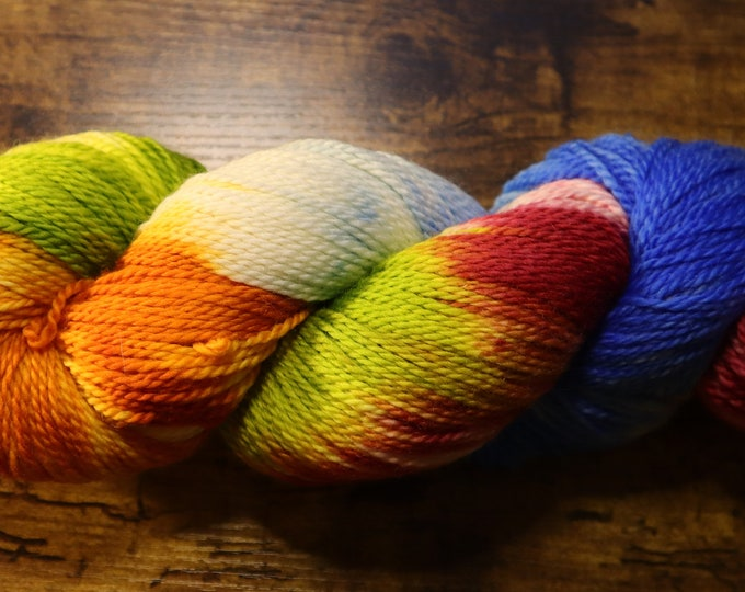 Ready to Ship - Butterfly House Hand Dyed Sock Yarn