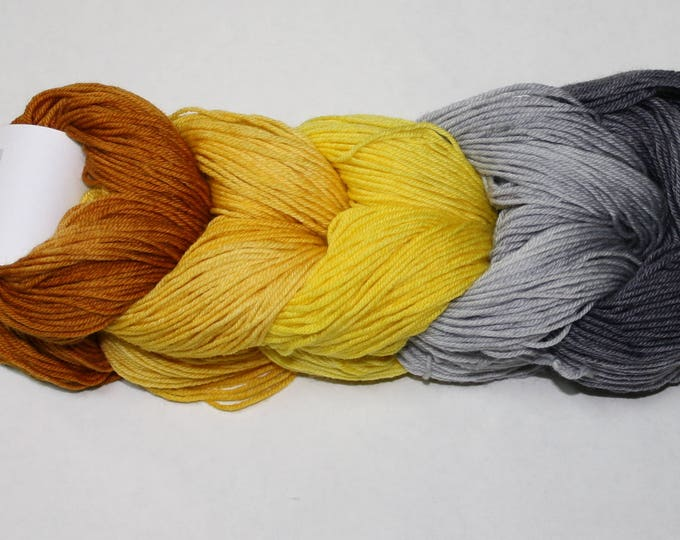 Grellow Mini Skein Set - Tough Sock