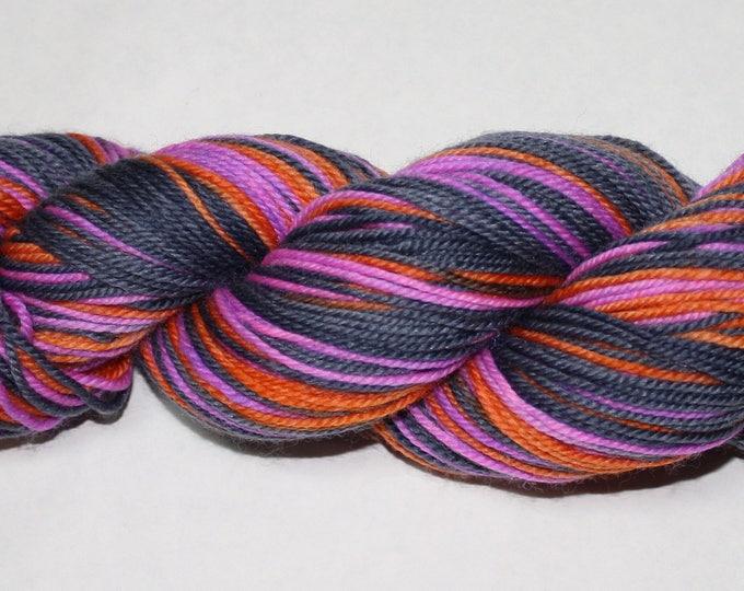 Ginny Self Striping Hand Dyed Sock Yarn