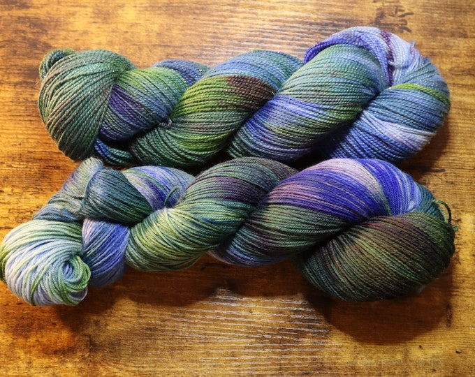 Keep Calm and Wash Your Hands Hand Dyed Yarn