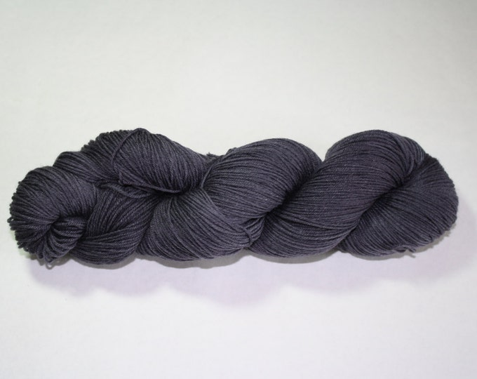 Charcoal Grey Kettle Dyed Yarn