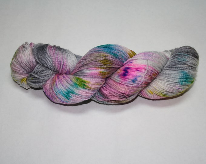 Ready to Ship - Be A Light Hand Dyed Sock Yarn - Sparkle Singles