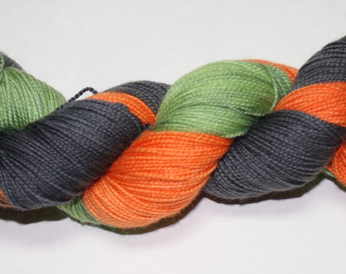 Vintage Halloween Hand Dyed Sock Yarn