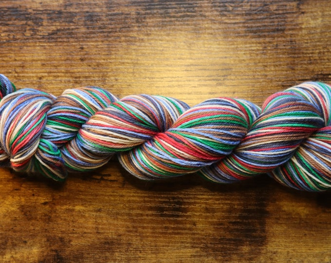 Dyed to Order - I'm a Wizard Self Striping Sock Yarn