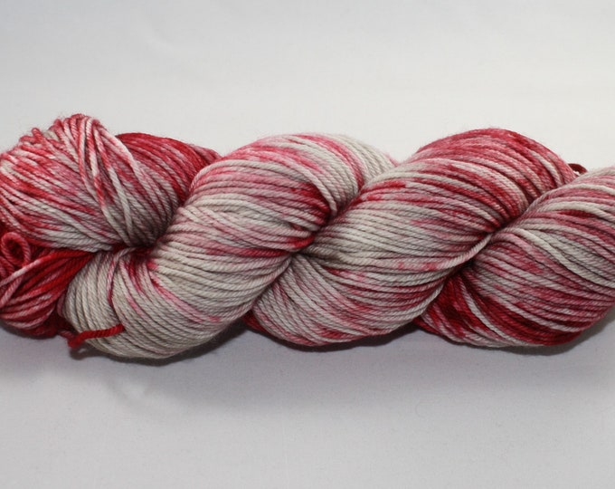 Ready to Ship - Female Cardinal Hand Dyed Sock Yarn