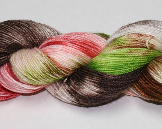 Professor Sprout Hand Dyed Sock Yarn