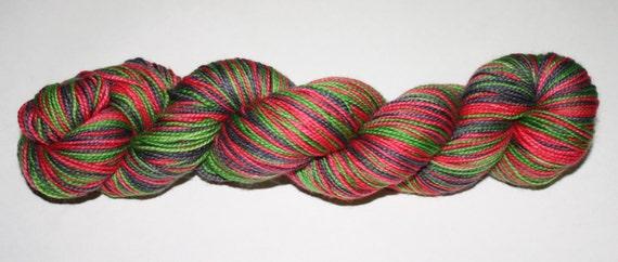 Mean One Self - Striping Hand Dyed Sock Yarn