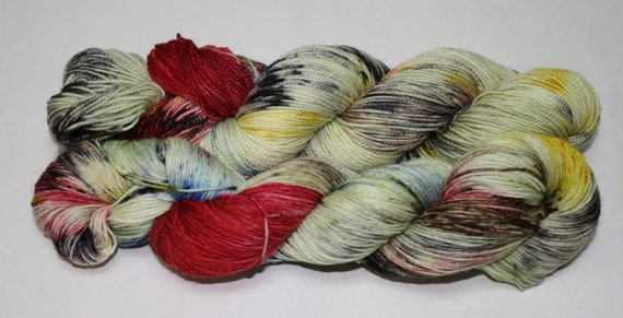Our Voice Hand Dyed Sock Yarn