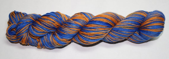 Ravenclaw Self Striping Hand Dyed Sock Yarn