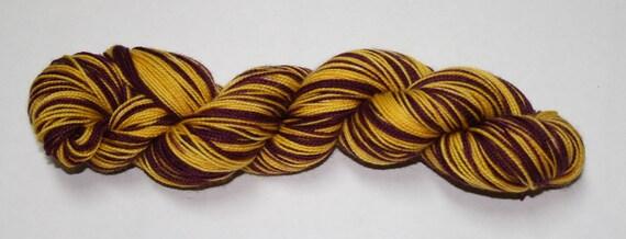 Gryffindor - Movie Self Striping Sock Yarn