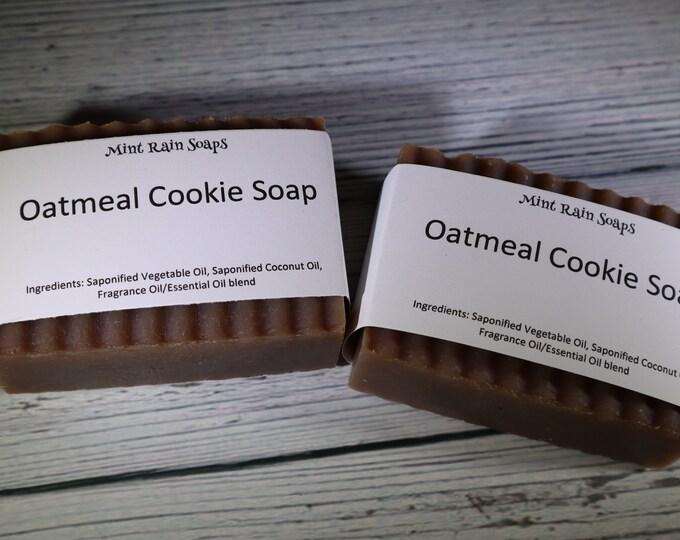 Oatmeal Cookie Handmade Soap