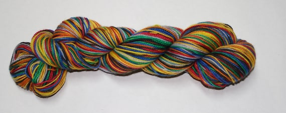 House Unity Self Striping Sock Yarn