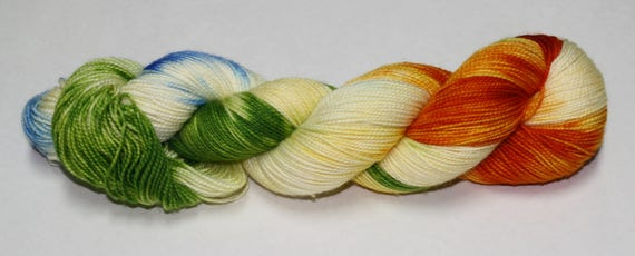 The Burrow Hand Dyed Sock Yarn