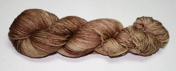 Fawn Hand Dyed Sock Yarn