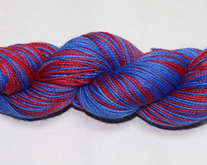 Dyed to Order - Anna Self Striping Hand Dyed Sock Yarn