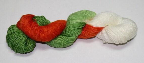 Irish Quiddich Team Hand Dyed Sock Yarn