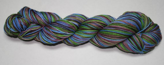 Outlander Self Striping Hand Dyed Sock Yarn