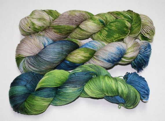 Dyed to Order - Washed Out Shawl Set