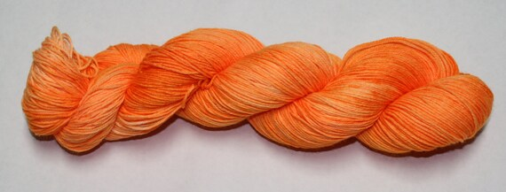 Ready to Ship - Can You See Me Now Hand Dyed Sock Yarn - Tough Sock
