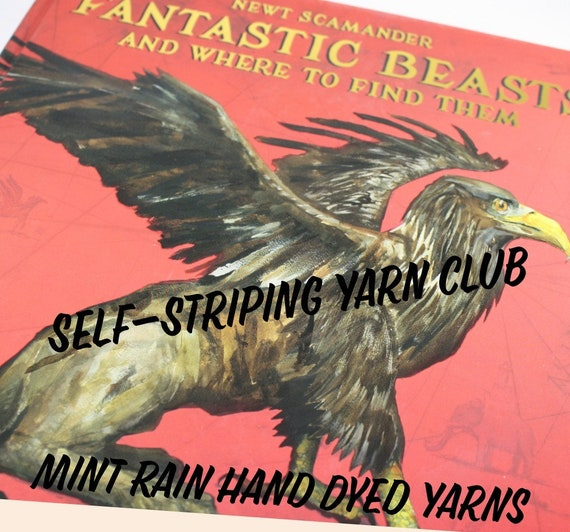 Fantastic Beasts Inspired Self Striping Club - 1 Month April