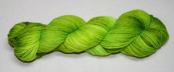 Ready to Ship - Ghoul Hand Dyed Sock Yarn - Soft Sock