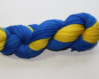 Wolverines Hand Dyed Yarn