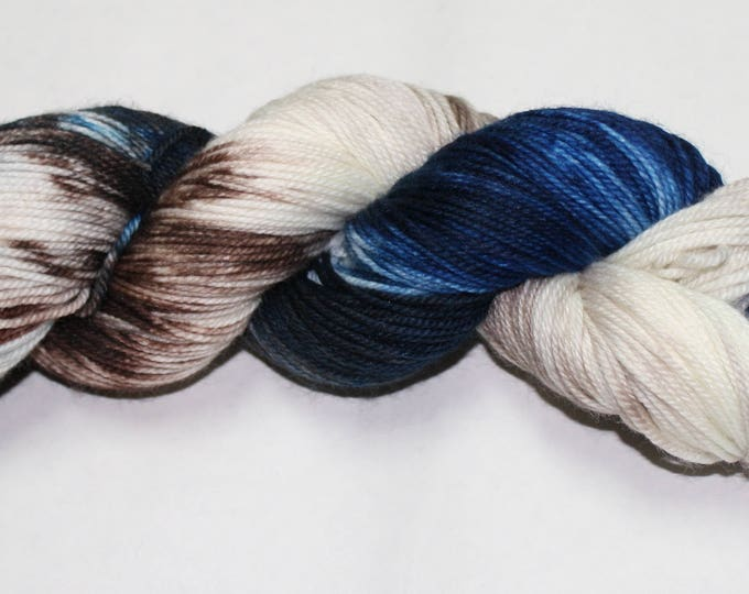 Dyed to Order - Ship's Surgeon Hand Dyed Sock Yarn