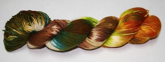 Ready to Ship - Hagrid's Hut Hand Dyed Sock Yarn - Superwash Worsted