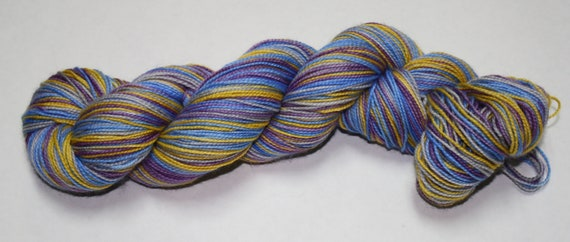 Dumbledore Self Striping Sock Yarn