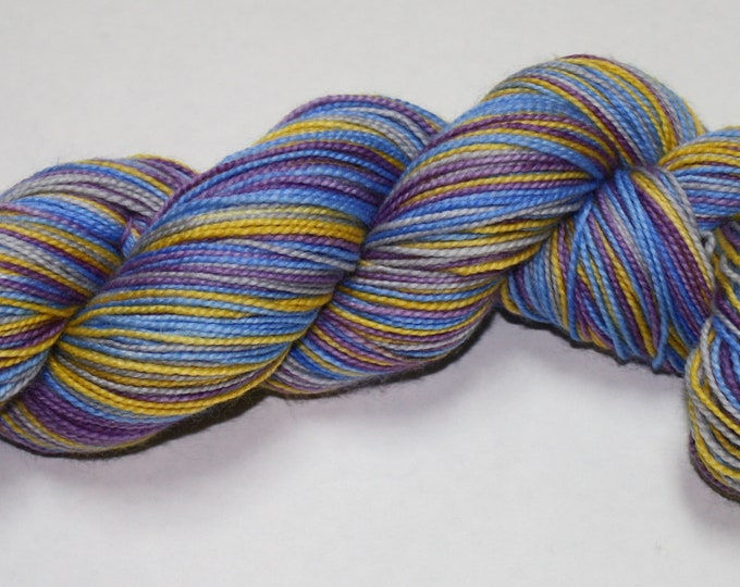 Dyed to Order - Dumbledore Self Striping Sock Yarn