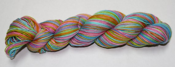 Ready to Ship - Star Bursts Self Striping Sock Yarn - Twist Sock