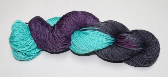 After the Storm Hand Dyed Sock Yarn
