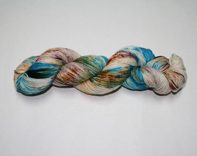 Dyed to Order - Boho Hand Dyed Sock Yarn