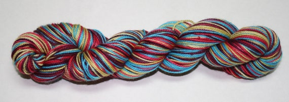Desert Sunset Self Striping Hand Dyed Sock Yarn