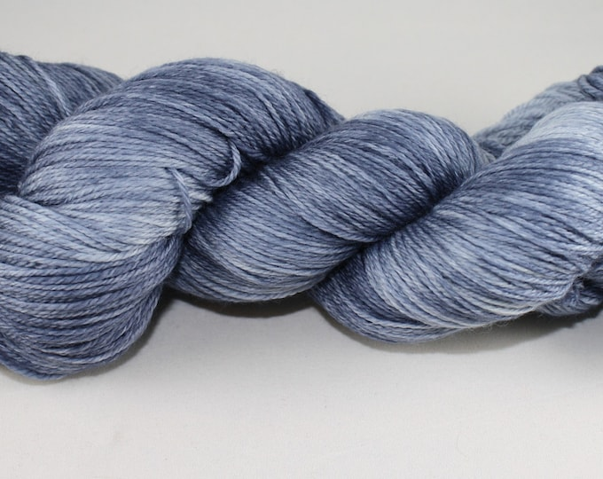 Blue Jeans Hand Dyed Yarn