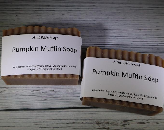 Pumpkin Muffin Handmade Soap