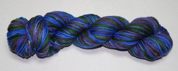 Wonderland Self Striping Hand Dyed Sock Yarn