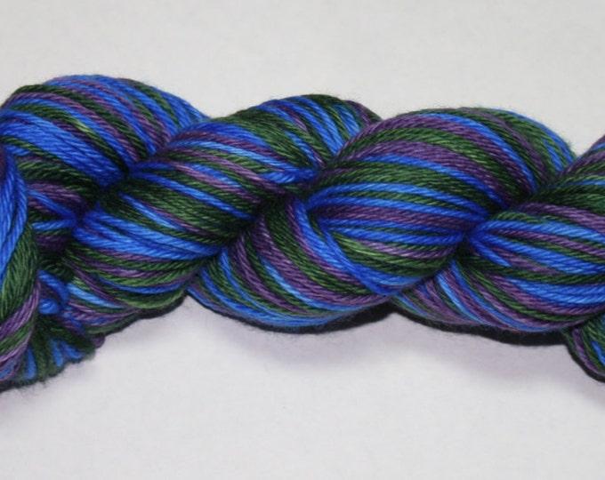 Ready to Ship - Wonderland Self Striping Hand Dyed Sock Yarn