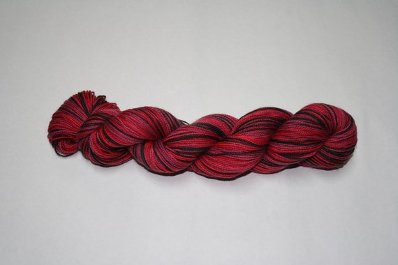 Ready to Ship - Buffalo Self Striping Hand Dyed Sock Yarn - Twist Sock