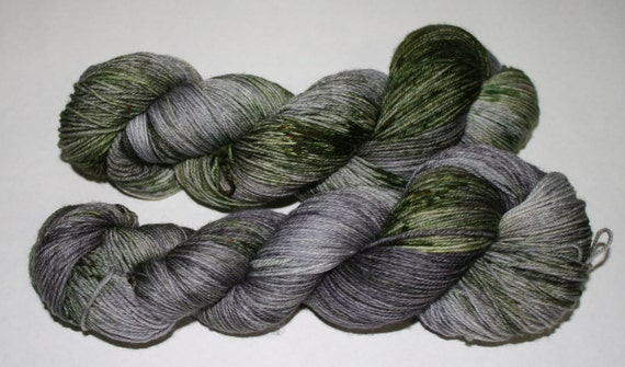Ready to Ship - Standing Stones Hand Dyed Sock Yarn - Superwash Worsted