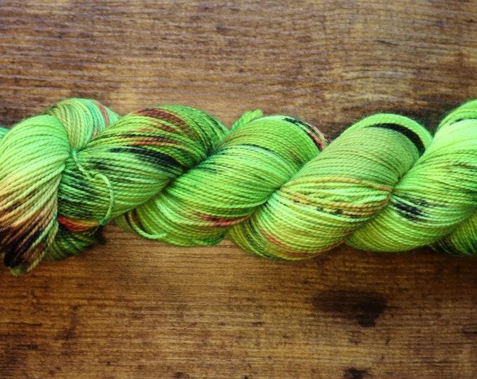 Dyed to Order - Avoid Toxic Productivity Hand Dyed Yarn